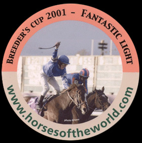 Breeder's cup 2001 - Fantastic Light - www.horsesoftheworld.com