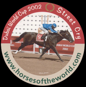 Dubai World Cup 2002 - Street Cry - www.horsesoftheworld.com