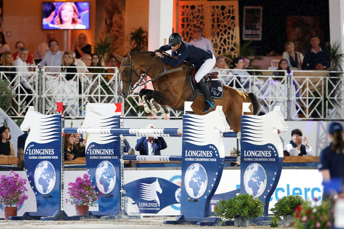 LGCT 2016: Denis Lynch (IRL) took the win in tonight's Prix E.Leclerc 1.55m CSI5* competition.
