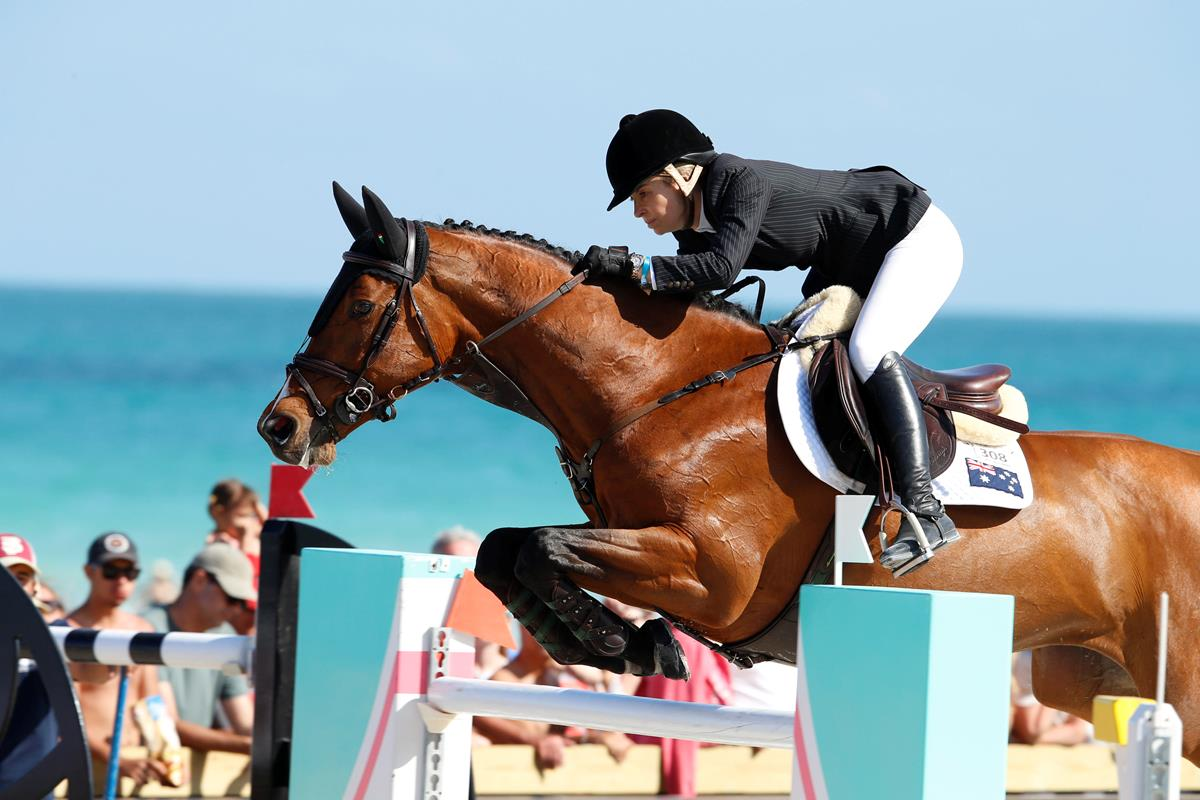 LGCT 2016: Edwina Tops-Alexander throws down the gauntlet after stunning LGCT Grand Prix of Miami Beach win.