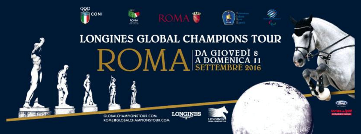 LGCT 2016: Media Statement: Longines Global Champions Tour of Rome.